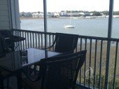 Folly Getaway Waterfront Condominium