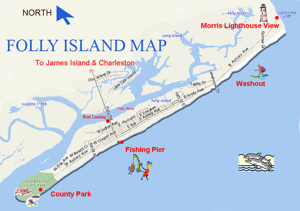 Image Result For Folly Beach Hotels