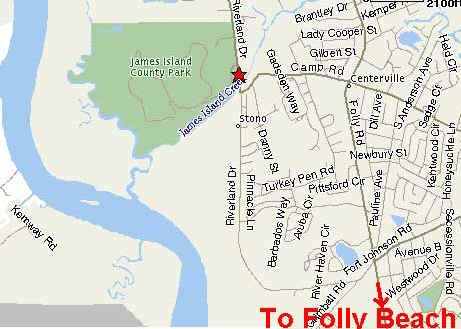 Folly Beach South Carolina Map.Camping In Folly Beach Sc Follybeach Com