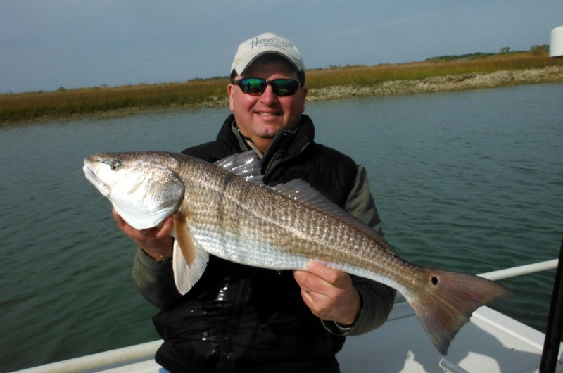 March fishing report for Folly beach fishing