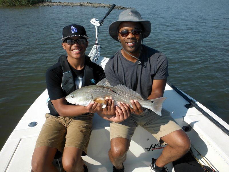 October fishing report for Folly beach fishing