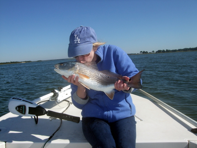 December fishing report for Folly beach fishing
