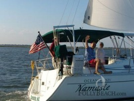 Sailing Charters At Folly Beach